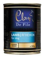 Clan De File консервы для собак (с ягненком)