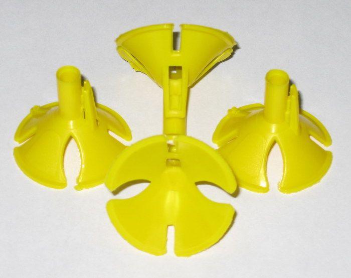 Розетка универсальная Желтая