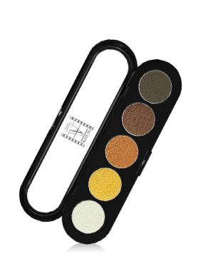 Make-Up Atelier Paris Palette Eyeshadows T14 Golden tones