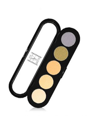 Make-Up Atelier Paris Palette Eyeshadows T04 Yellow tones