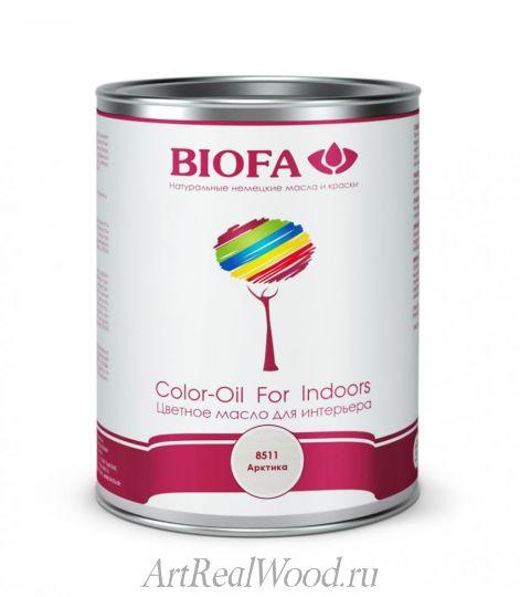 Масло белое укрывистое 8511 (Арктика) Color-Oil For Indoors BIOFA
