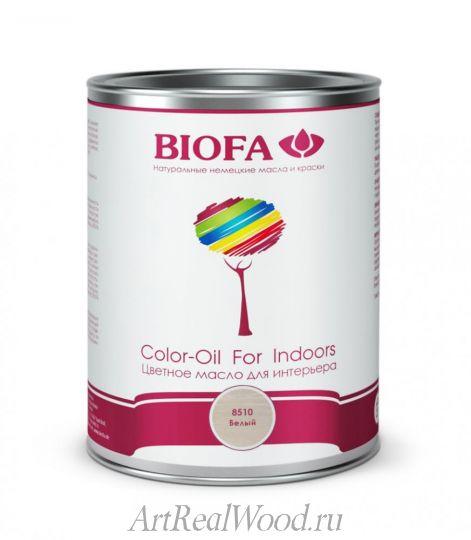 Масло для интерьера 8510 (Белый) Color-Oil For Indoors BIOFA