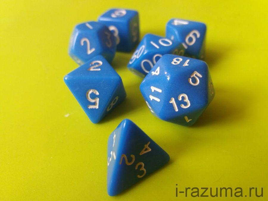 Кубики ДНД Простые (D&D) 7 шт.