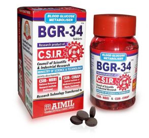 БГР-34 BGR-34  (метаболизатора глюкозы в крови)