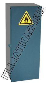 Металлический шкаф для 1 газового баллона