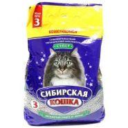 """Сибирская кошка Комкующийся наполнитель """"Супер"""" (3 л)"""