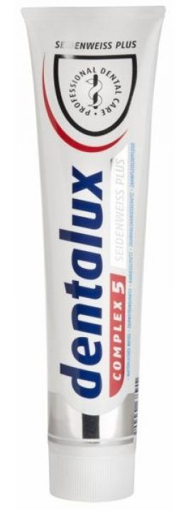Dentalux Whitenning Plus 125 мл зубная паста