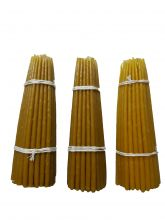 Свечи высший сорт №2 вес 240 гр,. высота 200 мм., диаметр 7 мм., 50 свечей в пачке.