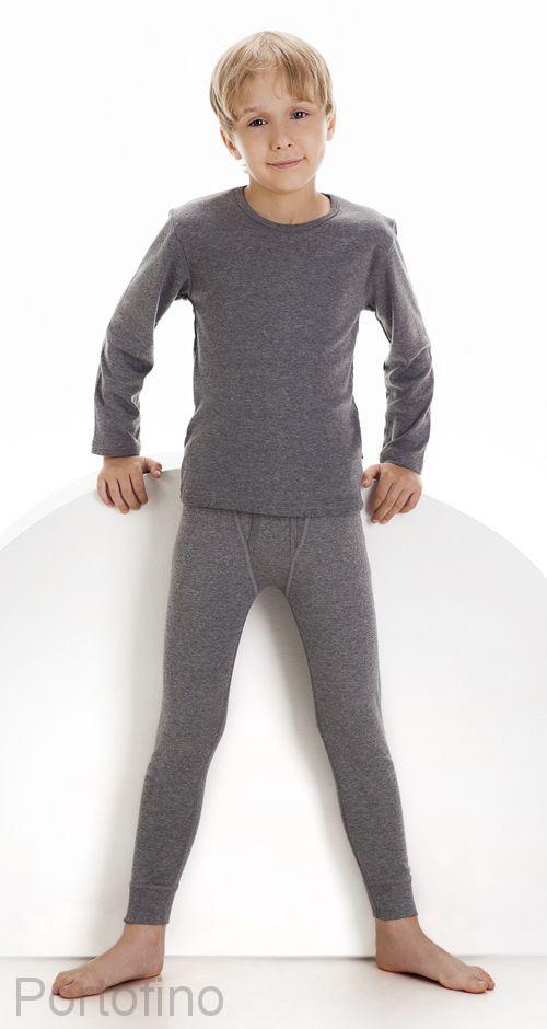 214 футболка для мальчиков с длинным рукавом Cornette
