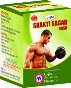 Shakti Sagar Rasa(Silver Coated),30 таб