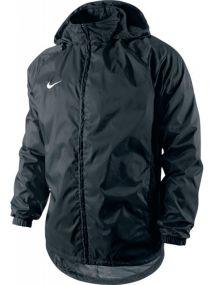 Детская ветровка Nike Foundation 12 Rain Jacket With Hood Waterproof With Zip Junior чёрная
