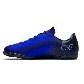 Детские футзалки Nike Mercurial Victory V Cristiano Ronaldo IC тёмно-синие