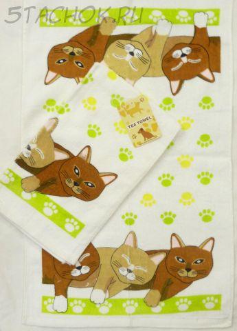 "Полотенце махровое ""Три котика"""