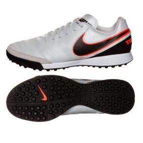 Шиповки Nike Tiempo Mystic V TF серые