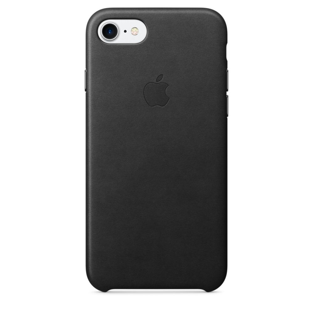 APPLE LEATHER CASE ДЛЯ IPHONE 7/8 Black