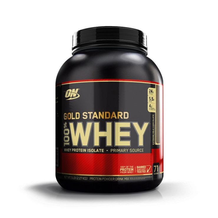 Протеин Optimum Nutrition 100% Whey protein Gold standard 5 lb (2, 27 кг)