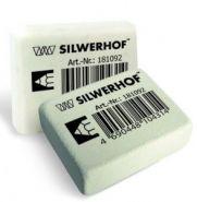 """Ластик """"Silwerhof. Ivory"""", 27х19х9мм, цв. белый, (арт. 181092)"""