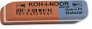 """Ластик комбинированный красно-синий """"K-I-N"""" (арт. 6521/60) (00403)"""