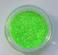 Меланж (втирка) неоновая зеленая Neon #2, 1 грамм (0,4 мм)