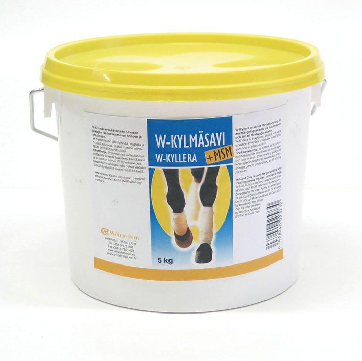 Глина охлаждающая, W-Cold Clay & MSM. С серой. 5 и 15 кг