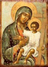 Новоникитинская икона Божией Матери (копия старинной)