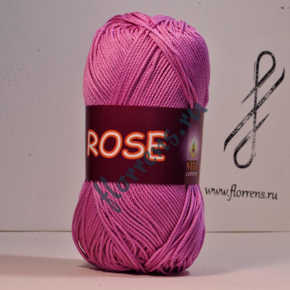 Пряжа Rose / 3934 цикламен