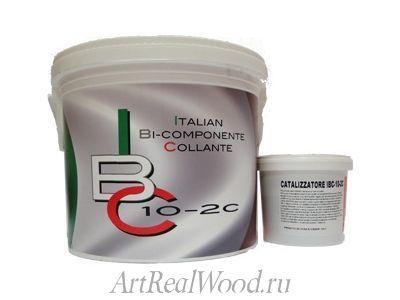 Паркетный клей IBC 10-2c Recoll-ICAR
