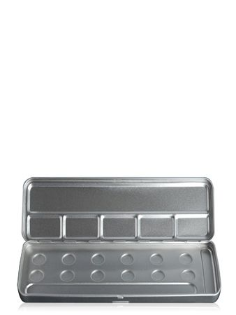 Make-Up Atelier Paris Palette Mеtal Vide M12C Holes Metal Box