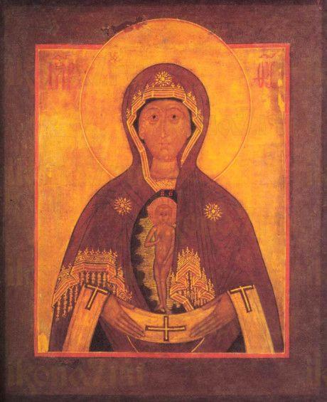 Албазинская икона Божией Матери (копия старинной)