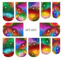 Слайдер-дизайн для ногтей № 0253