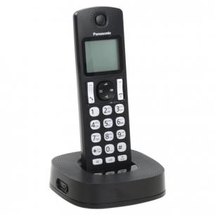 Радиотелефон PANASONIC KX-TGC310RU1, пам 50ном АОН, повтор, черный