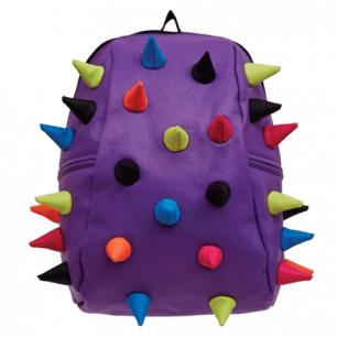"""Рюкзак MADPAX """"Rex 2 Half"""", универсальный, молодежный, фиолет., цветн. Шипы, 36*31*15см, KAB24485086"""