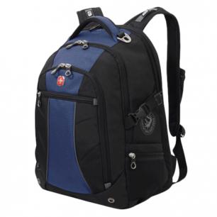 Рюкзак WENGER (Швейцария), универсальный, сине-черный, 36*19*47см, 32л, 3118302408