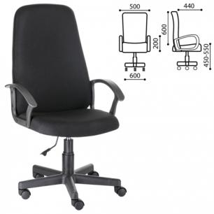 """Кресло офисное """"Элемент"""", СН 289, с подлокотниками, черное B-14, ш/к32990"""