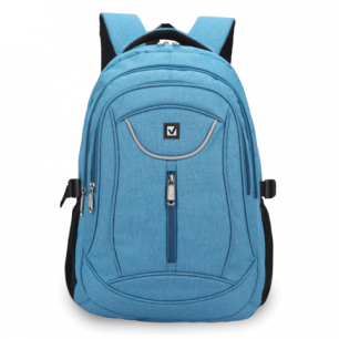 Рюкзак BRAUBERG для средней школы, универс., джинсовый, Скай, 46*34*18см, 225517