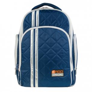 Рюкзак TIGER FAMILY (ТАЙГЕР)  для сред.школы, универсальный, темно-синий, 39*31*22 см, 31101A