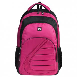 Рюкзак BRAUBERG B-TR1608 ст.класс/студ, дев., розовый, Спорт, 34*15*46 см, 225292