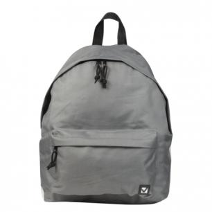 Рюкзак BRAUBERG B-HB1630 ст.класс/студенты/молодежь, сити-формат, Один тон Серый, 41*32*14, 225380