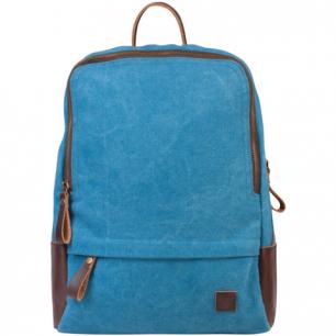 Рюкзак BRAUBERG W-162 ст.класс/студ, холщовый, иск. кожа, дев., Джинс, 32*25*11 см, 225295