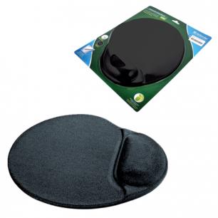 Коврик для мыши DEFENDER гелевый GL009/908 черный, лайкра D50905