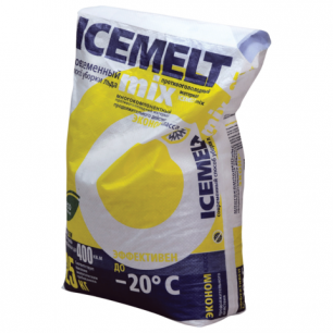 Реагент антигололедный ICEMELT Mix (Айсмелт Микс)  25кг, до -20С, мешок, ш/к10074