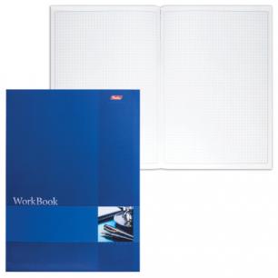 """Книга учета 96л, А4 210*285мм """"Хатбер"""", блок сшито-клеен., тиснен., кл., Синяя, 96Т4B1к_09097 (T150252)"""
