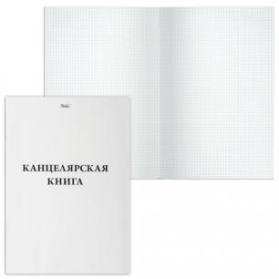 """Книга учета 48л, А4 205*295мм """"Хатбер"""", на скобе, карт. обл., клетка, 48Т4B3_03963 (T023198)"""