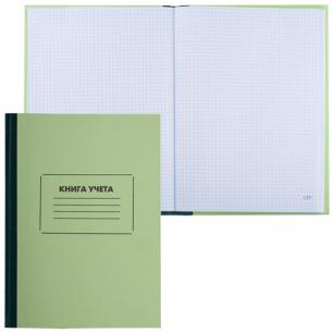 Книга учета STAFF 120л 205*287мм, клетка, обл. твердая офсетная, блок офсет, нумерация стр., 130062