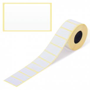 Этикетка ТермоТоп, для термопринтера и весов 43*25*1000шт (ролик), светостойкость до 12мес. 126101
