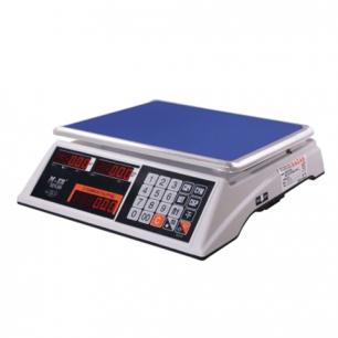 Весы торговые MERCURY M-ER 327-32.5 LED (0,1-32кг), дискретность 5г, платформа 325x230мм, без стойки