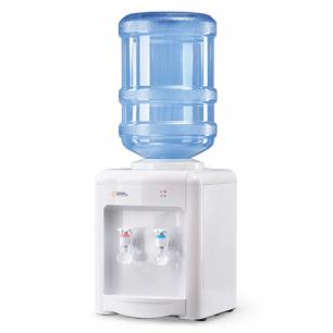 Кулер для воды AEL TD-AEL-340, настольный, НАГРЕВ/ОХЛАЖДЕНИЕ, 2 крана, белый, 00134