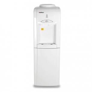 Кулер для воды HOT FROST V802CE, напольный, НАГРЕВ/ОХЛАЖДЕНИЕ, шкафчик14л, 2 крана, белый, 120280201
