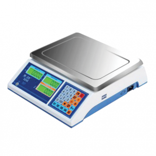 Весы торговые MERCURY M-ER 322 (323) С-32.5 LCD (0,1-32кг), дискретность 5г, платф 315х235мм, б/стойки