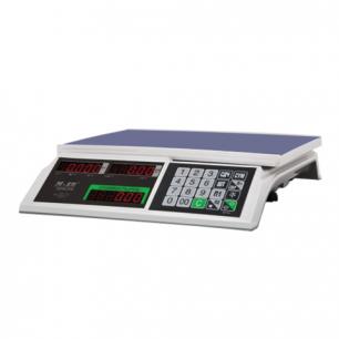 Весы торговые MERCURY M-ER 326-32.5 LED (0,1-32кг), дискретность 5г, платформа 325x230мм, без стойки